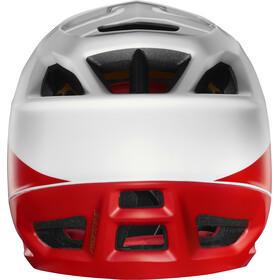 Fox Proframe Matte Full Face Helmet Herren white/black/red